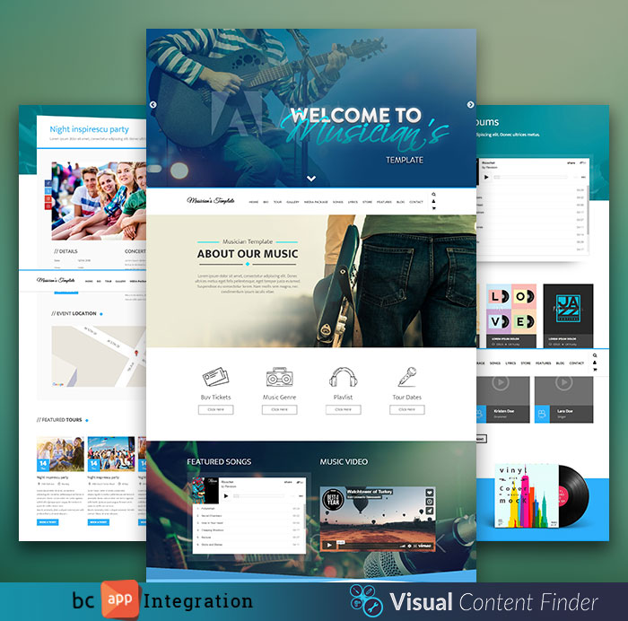 Business catalyst templates bc gurus template details live preview friedricerecipe Image collections