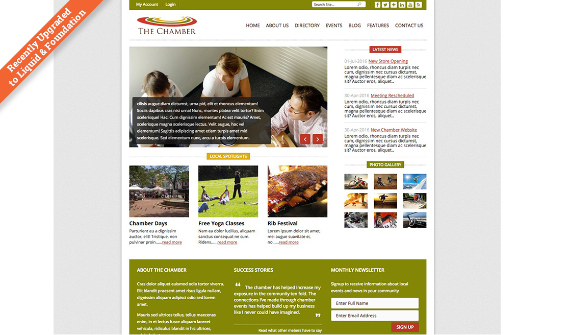 Updated liquid business catalyst template chamber of commerce view the chamber of commerce template details page maxwellsz