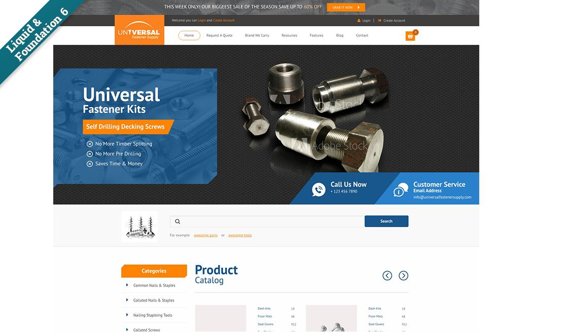 New liquid business catalyst template universal fastener supply friedricerecipe Choice Image