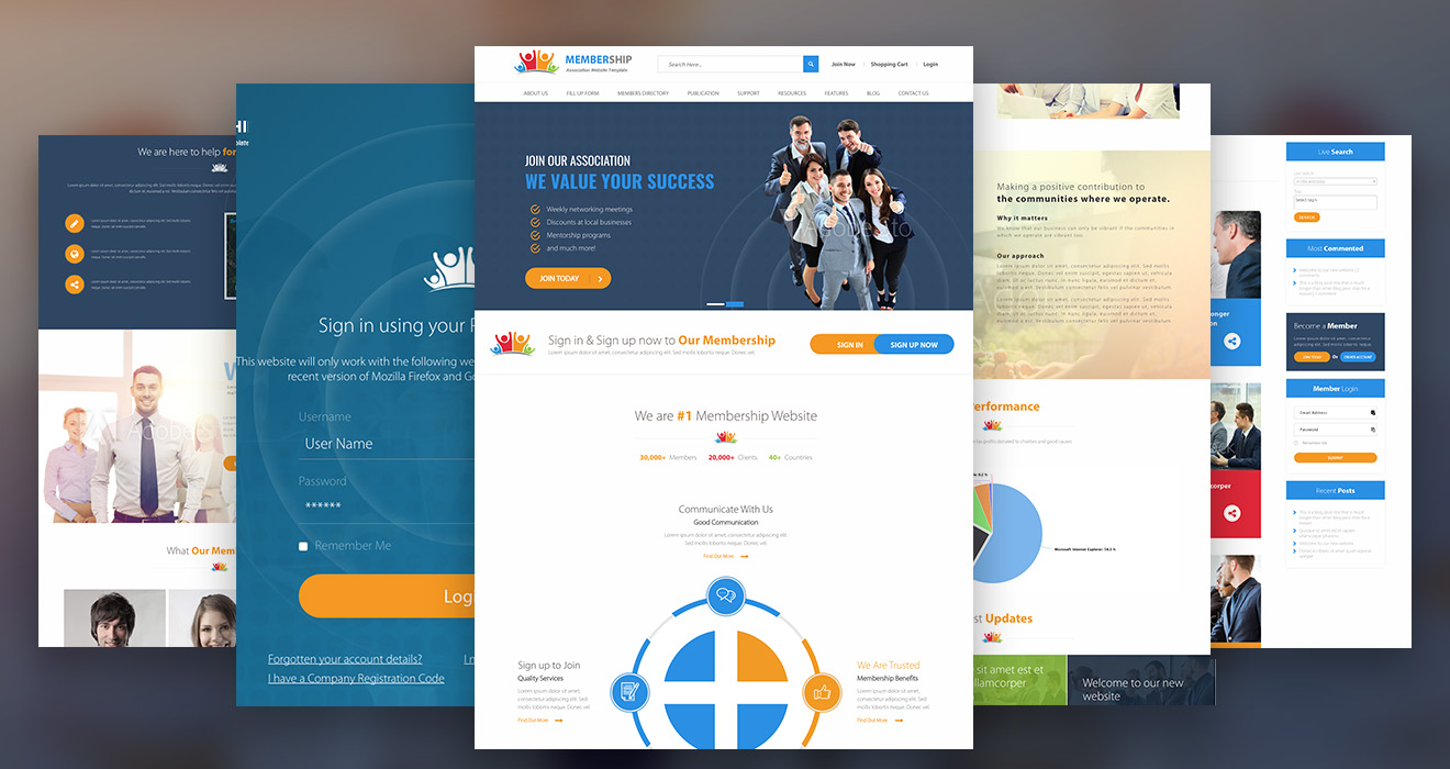 New business catalyst template the association new business catalyst template association wajeb Image collections