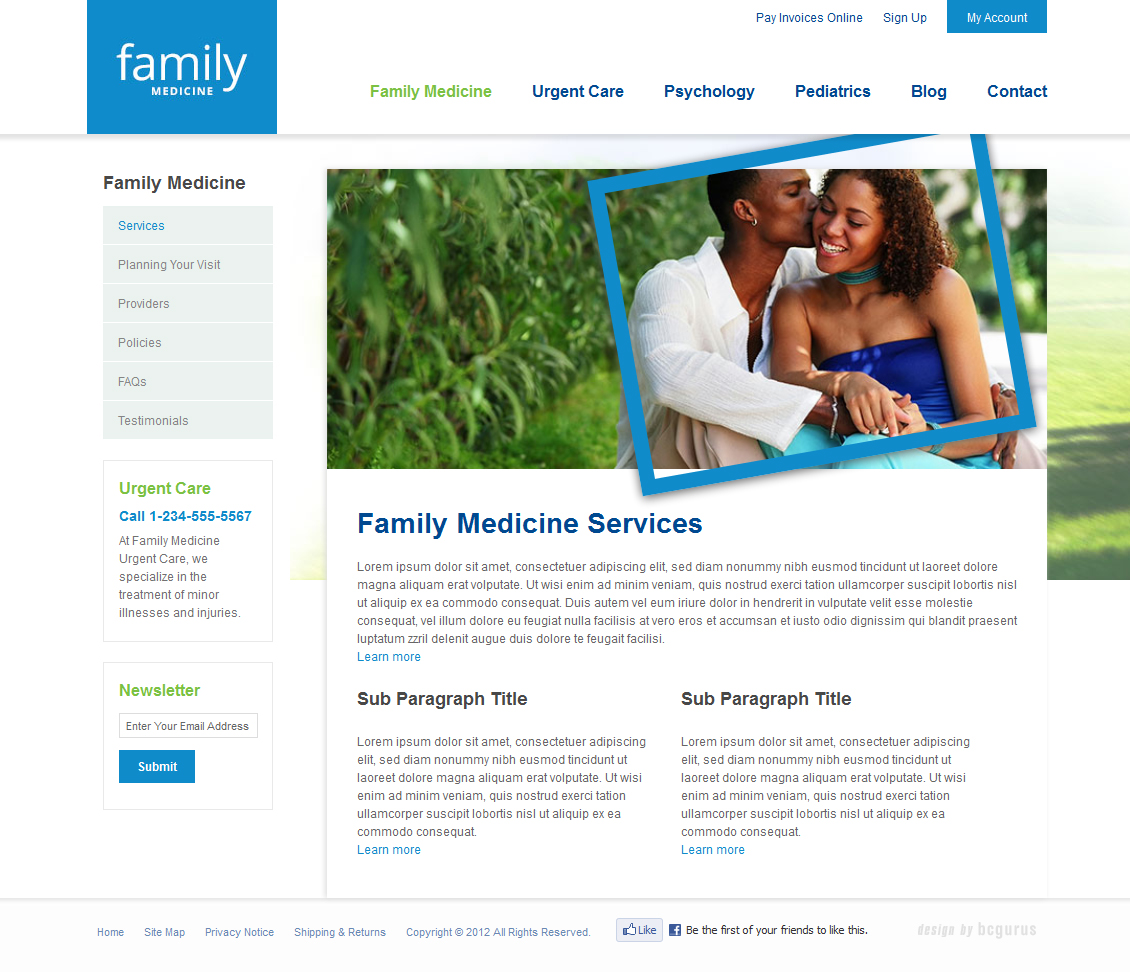 New business catalyst template family medicine health template wajeb Image collections