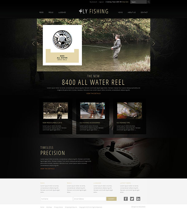 New business catalyst template fly fishing e commerce friedricerecipe Images