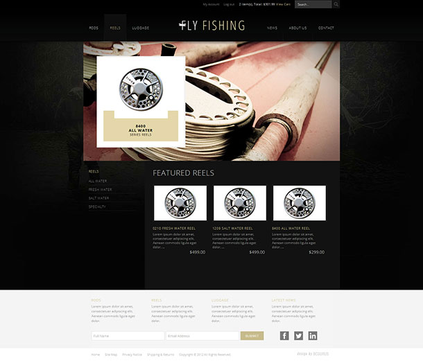 New business catalyst template fly fishing e commerce login or create a new account to add this your favorites friedricerecipe Images