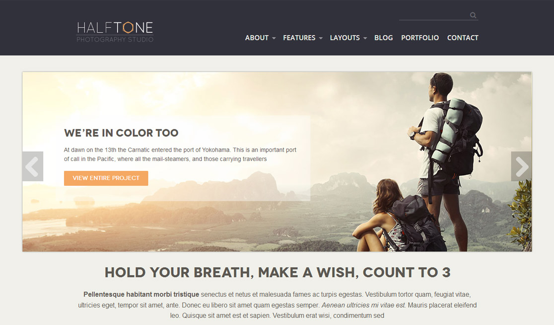 New business catalyst template photography accmission Image collections