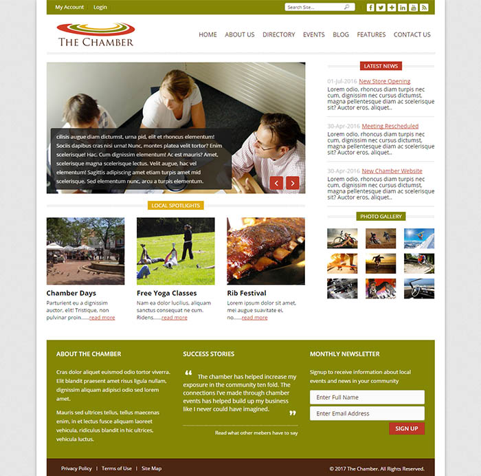 Business catalyst templates bc gurus template details live preview wajeb Gallery